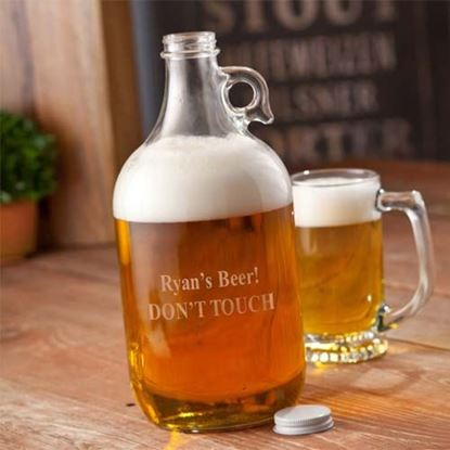 Picture of Personalized Craft Beer Growler