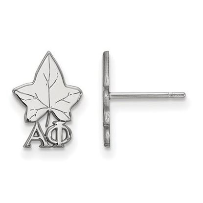 Picture of Alpha Phi Sorority Sterling Silver Extra Small Post Earrings