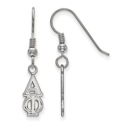 Picture of Alpha Phi Sorority Sterling Silver Dangle Earrings