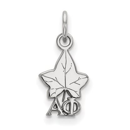 Picture of Alpha Phi Sorority Sterling Silver Extra Small Pendant