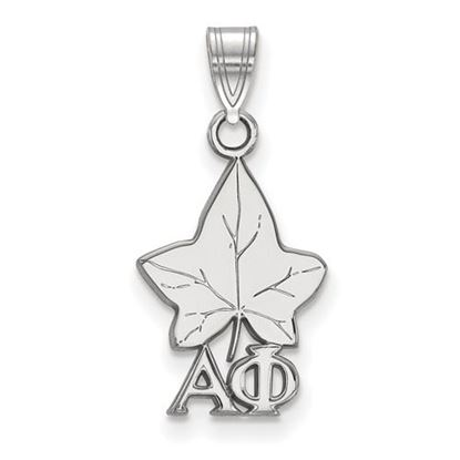 Picture of Alpha Phi Sorority Sterling Silver Small Pendant