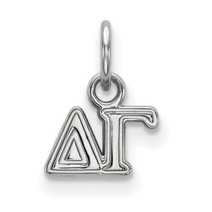 Picture of Delta Gamma Sorority Sterling Silver Extra Small Pendant