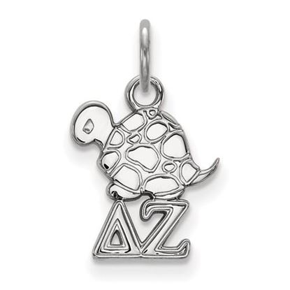 Picture of Delta Zeta Sorority Sterling Silver Extra Small Pendant