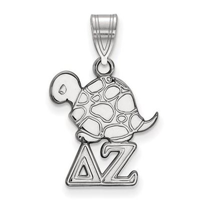 Picture of Delta Zeta Sorority Sterling Silver Small Pendant