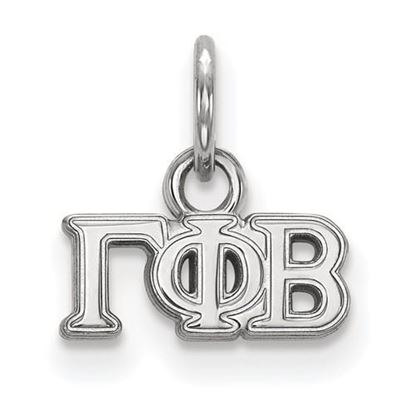 Picture of Gamma Phi Beta Sorority Sterling Silver Extra Small Pendant