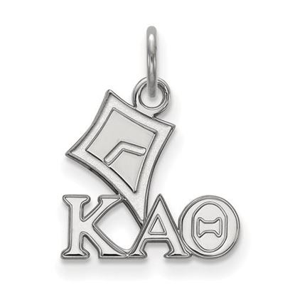 Picture of Kappa Alpha Theta Sorority Sterling Silver Extra Small Pendant