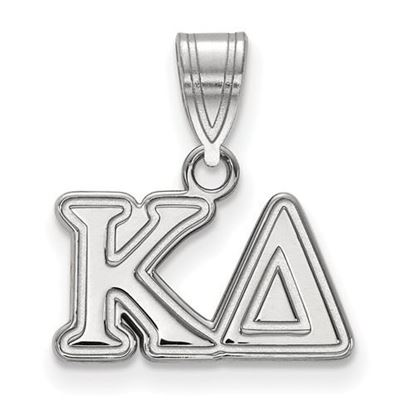 Picture of Kappa Delta Sorority Sterling Silver Medium Pendant
