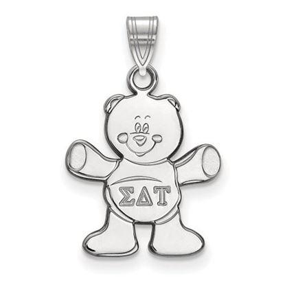 Picture of Sigma Delta Tau Sorority Sterling Silver Small Pendant
