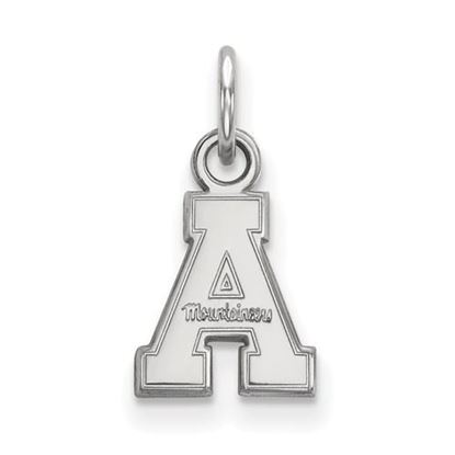 Picture of Appalachian State University Mountaineers 10k White Gold Extra Small Pendant