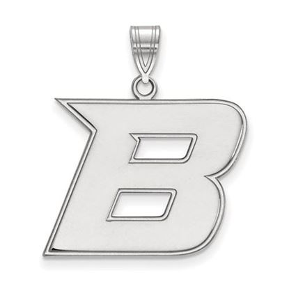 Picture of Boise State University Broncos 14k White Gold Large Pendant