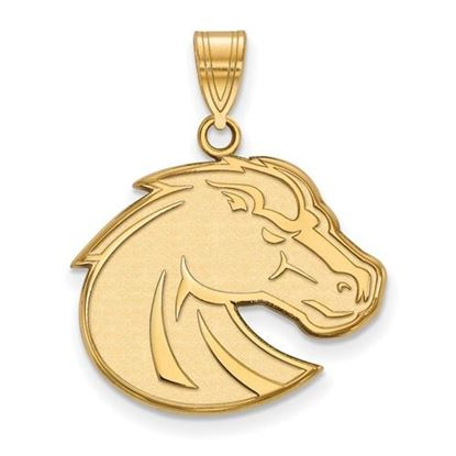 Picture of Boise State University Broncos 14k Yellow Gold Large Pendant