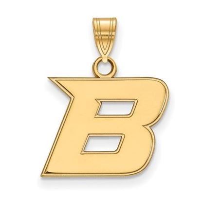 Picture of Boise State University Broncos Sterling Silver Gold Plated Small Pendant