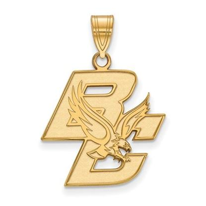 Picture of Boston College Eagles 10k Yellow Gold Large Pendant