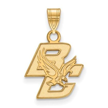 Picture of Boston College Eagles 10k Yellow Gold Small Pendant