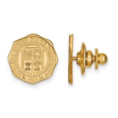 Picture of Bowling Green State University Falcons 14k Yellow Gold Crest Lapel Pin