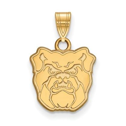 Picture of Butler University Bulldogs Sterling Silver Gold Plated Small Pendant