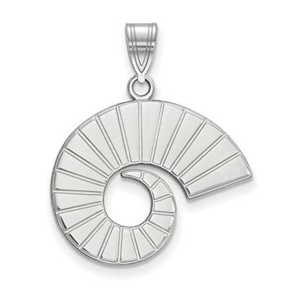 Picture of Colorado State University Rams 10k White Gold Large Pendant