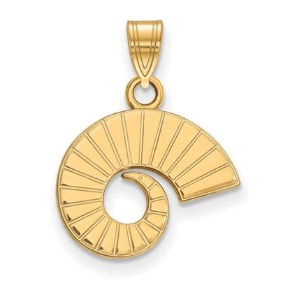 Picture of Colorado State University Rams 10k Yellow Gold Small Pendant