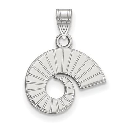 Picture of Colorado State University Rams 14k White Gold Small Pendant