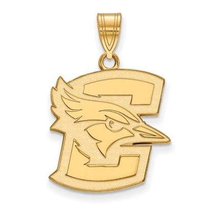 Picture of Creighton University Blue Jays Sterling Silver Gold Plated Large Pendant