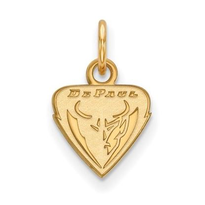 Picture of DePaul University Blue Demons 14k Yellow Gold Extra Small Pendant