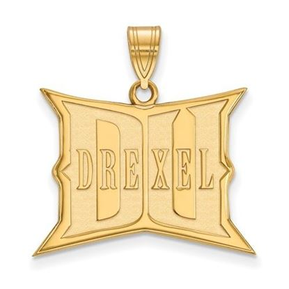 Picture of Drexel University Dragons 10k Yellow Gold Large Pendant