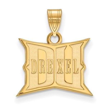 Picture of Drexel University Dragons Sterling Silver Gold Plated Small Pendant