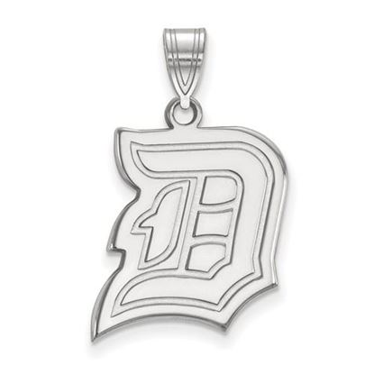 Picture of Duquesne University Dukes 10k White Gold Large Pendant