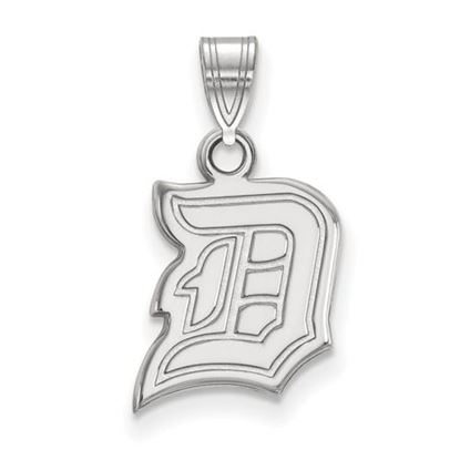 Picture of Duquesne University Dukes 10k White Gold Small Pendant