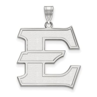 Picture of East Tennessee State University Buccaneers 10k White Gold Extra Large Pendant