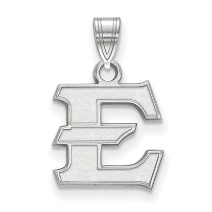 Picture of East Tennessee State University Buccaneers 10k White Gold Small Pendant