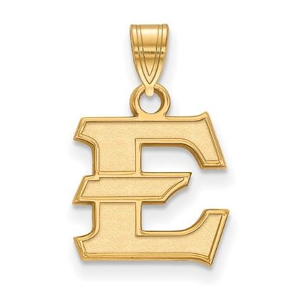 Picture of East Tennessee State University Buccaneers Sterling Silver Gold Plated Small Pendant