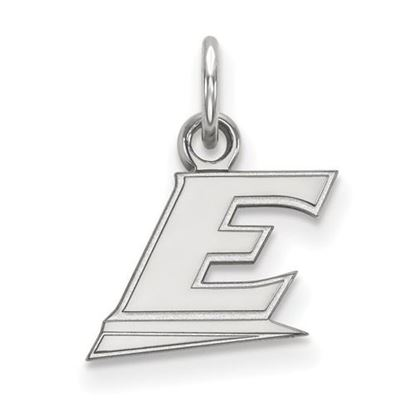 Picture of Eastern Kentucky University Pirates 10k White Gold Extra Small Pendant