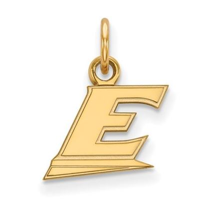 Picture of Eastern Kentucky University Pirates 10k Yellow Gold Extra Small Pendant