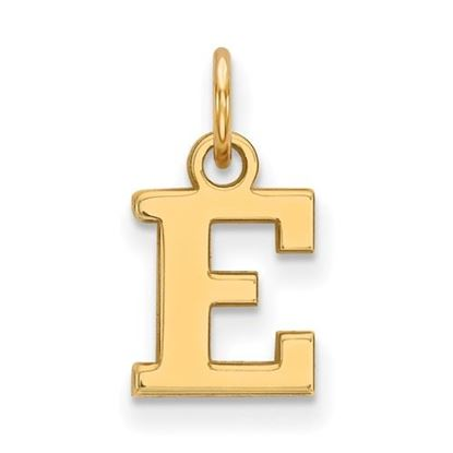 Picture of Eastern Michigan University Eagles Sterling Silver Gold Plated Extra Small Pendant