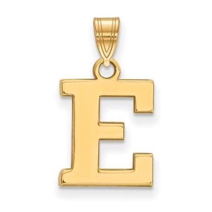Picture of Eastern Michigan University Eagles Sterling Silver Gold Plated Small Pendant