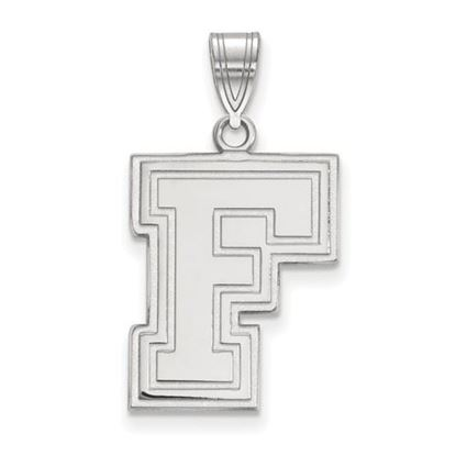 Picture of Fordham University Rams 10k White Gold Large Pendant