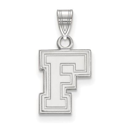 Picture of Fordham University Rams 10k White Gold Small Pendant