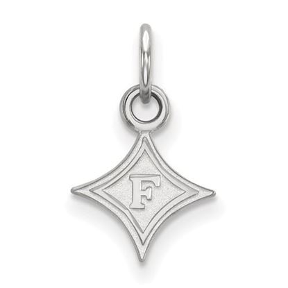 Picture of Furman University Paladins 10k White Gold Extra Small Pendant