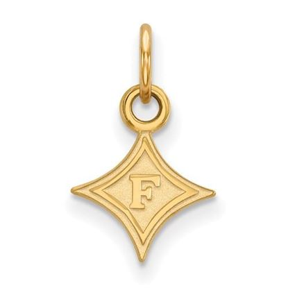 Picture of Furman University Paladins Sterling Silver Gold Plated Extra Small Pendant