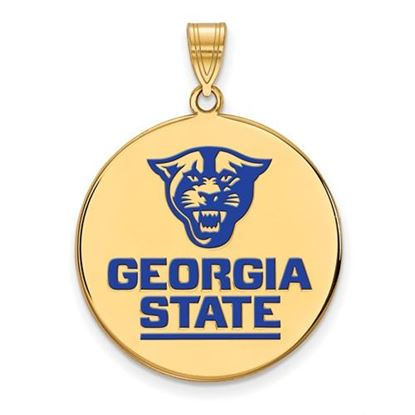 Picture of Georgia State University Panthers Panthers Gold Plated Pendant