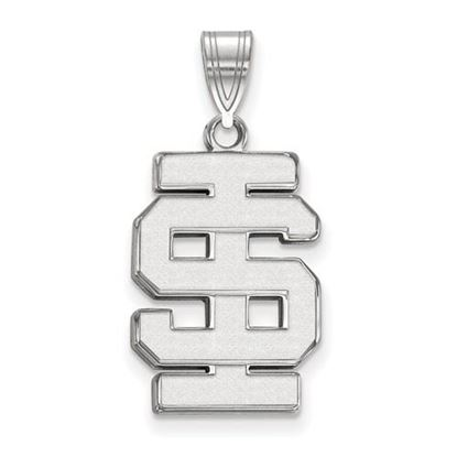 Picture of Idaho State University Bengals 10k White Gold Large Pendant