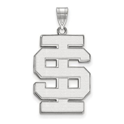 Picture of Idaho State University Bengals 14k White Gold Extra Large Pendant