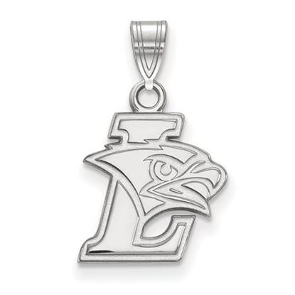 Picture of Lehigh University Mountain Hawks 10k White Gold Small Pendant