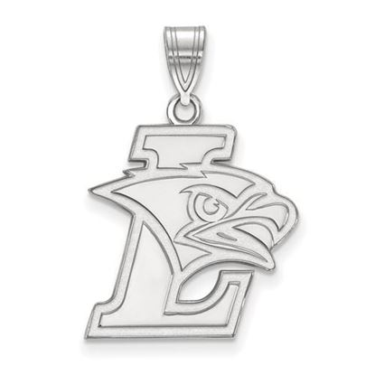 Picture of Lehigh University Mountain Hawks 14k White Gold Large Pendant
