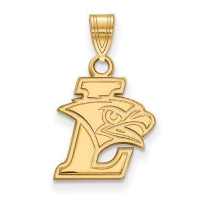 Picture of Lehigh University Mountain Hawks Sterling Silver Gold Plated Small Pendant