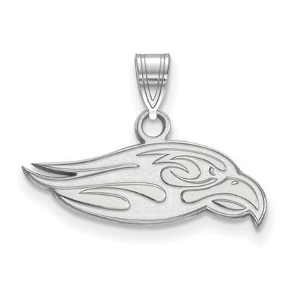 Picture of Liberty University Flames 10k White Gold Small Pendant