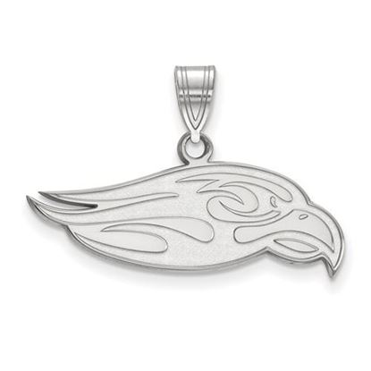 Picture of Liberty University Flames 14k White Gold Large Pendant