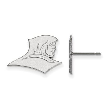 Picture of Providence College Friars 10k White Gold Small Post Earrings