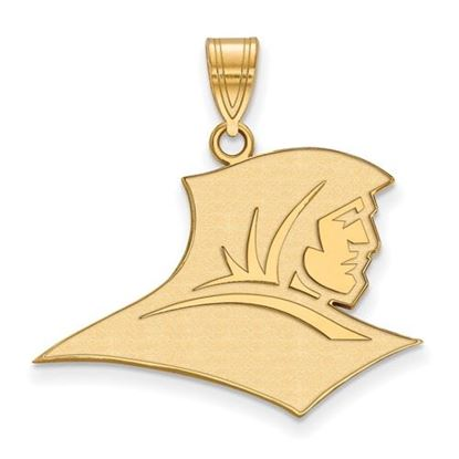 Picture of Providence College Friars Sterling Silver Gold Plated Large Pendant